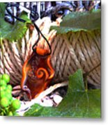Swirl And Rope Metal Print