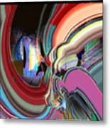 Swirl Metal Print by Dave Kwinter