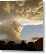 Swirling Clouds Metal Print