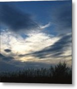 Swirling Skies Metal Print