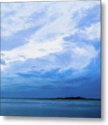 Swirling Sky Metal Print