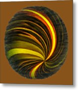 Swirls And Curls Metal Print