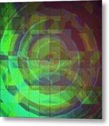 Swirls Metal Print