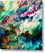 Swirls Of Paint Xii Metal Print