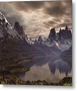 Swiss Alps  Metal Print