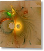 Swiss Cheese Look Metal Print