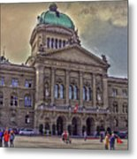 Swiss Federal Palace Metal Print