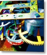 Swiss Movement Metal Print