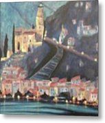 Switzerland By Night Metal Print