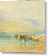 Switzerland  Possibly Lake Metal Print