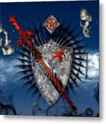 Sword And Shield Metal Print
