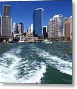 Sydney Circular Quay Metal Print by Melanie Viola