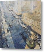 Sydney, George St. In 1930 Metal Print