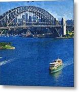 Sydney Harbor Bridge Metal Print