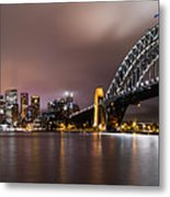 Sydney Harbor Metal Print