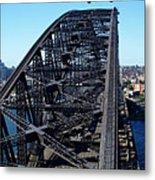 Sydney Harbour Bridge Metal Print by Melanie Viola
