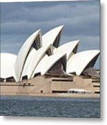 Sydney Opera House Panorama Metal Print