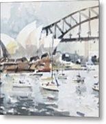Sydney Opera  Metal Print
