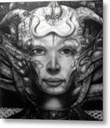 Syfy- Geiger Li Metal Print