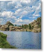 Sylvan Lake South Dakota Metal Print
