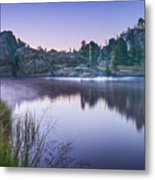 Sylvan Sunset Metal Print