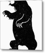 Symbol: Bear Metal Print