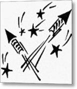 Symbol: Independence Day Metal Print