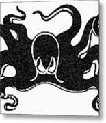 Symbol: Octopus Metal Print