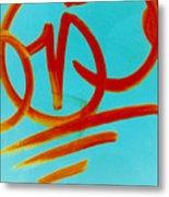 Symbols Metal Print