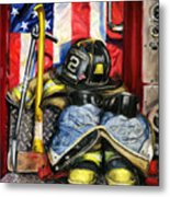 Symbols Of Heroism Metal Print by Paul Walsh