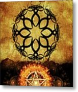 Symbols Of The Occult Metal Print