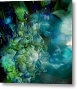 Symphony In Blue Metal Print