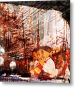 Symphony In The Park Metal Print