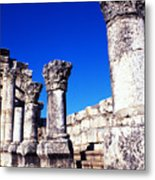 Synagogue Columns  Metal Print