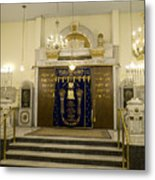 Synagogue, Thessaloniki Metal Print