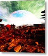 Syn's Moon Metal Print