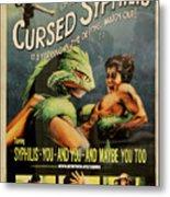 Syphilis Poster Metal Print