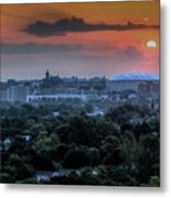Syracuse Sunrise Metal Print