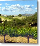 Syrah For Miles Metal Print