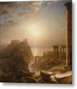 Syria By The Sea Metal Print