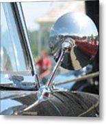 T-bird Reflections Metal Print