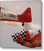 T6 Aerobatics II Metal Print