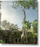 Ta Prohm Temple  Metal Print