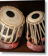 Tabla Musical Instrument Metal Print