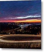 Table Rock Lake Night Shot Metal Print