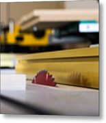 Table Saw Metal Print