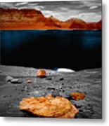 Tabletop Boulder Lake Powell Metal Print