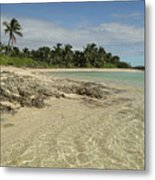 Tahiti Beach,bahamas. Metal Print