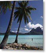Tahiti View Metal Print