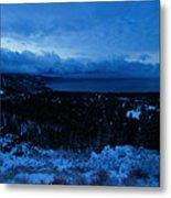 Tahoe Dawning Metal Print